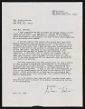 View André Thibault/Teabo letter, Palisades Park, New Jersey to Nanette Bearden, New York, New York digital asset number 0
