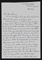View Alice C. Harrod, Washington, D.C. letter to Alma Thomas digital asset: page 1