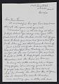 View Alice C. Harrod, Washington, D.C. letter to Alma Thomas digital asset: page 1