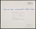 View Tibor de Nagy and Stanley Boxer at the Tibor de Nagy Gallery digital asset: verso