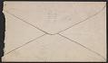 View Charles Ephraim Burchfield letter to Paul B. Travis digital asset: envelope verso