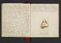 View Margaret Tupper True diary concerning Allen Tupper True as a baby digital asset: pages 23