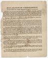 View Declaration of Independence digital asset: front