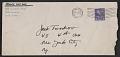 View Franz Kline letter to Jack Tworkov digital asset: envelope