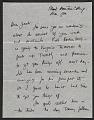 View Franz Kline letter to Jack Tworkov digital asset number 0
