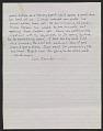 View Jennifer Bartlett letter to Jack Tworkov digital asset number 1