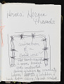 View Pages from a bound volume with notes, sketches, and ideas for art projects digital asset number 3