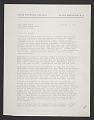 View Josef Albers, Black Mountain, N.C. letter to Inez Cunningham Stark digital asset number 0