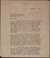View Fernand Léger letter to James Johnson Sweeney digital asset number 0