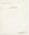 View Salvador Dali digital asset: verso