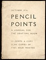 View Pencil points, a journal for the drafting room digital asset: cover