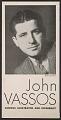View <em>John Vassos Famous Illustrator and Modernist</em> digital asset number 1