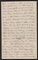 """View Letter from Elihu Vedder to """"Chick"""" (Caroline Vedder) digital asset: pages 2"""