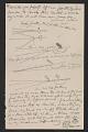 """View Letter from Elihu Vedder to """"Chick"""" (Caroline Vedder) digital asset: pages 3"""