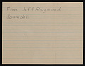 View Mrs. Dahl of the Vancouver Public Schools letter with enclosed student letters to Robert Vickrey digital asset: verso