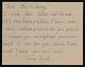 View Mrs. Dahl of the Vancouver Public Schools letter with enclosed student letters to Robert Vickrey digital asset number 4