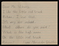 View Mrs. Dahl of the Vancouver Public Schools letter with enclosed student letters to Robert Vickrey digital asset number 7