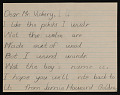 View Mrs. Dahl of the Vancouver Public Schools letter with enclosed student letters to Robert Vickrey digital asset number 9