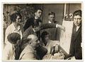 View Hans Hofmann and students at the Hofmann School in Munich digital asset number 0