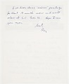 View Roy Lichtenstein, New York, N.Y. letter to Samuel J. Wagstaff digital asset: page 2