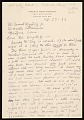 View Thomas Hart Benton, Kansas City, Mo. letter to Samuel J. Wagstaff, Hartford, Conn. digital asset number 0