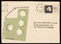 View Richard Tuttle mail art to Samuel J. Wagstaff digital asset number 1