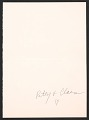 View Claes Oldenburg holiday card to Samuel Wagstaff digital asset number 1