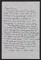 View Agnes Martin letter to Samuel J. Wagstaff digital asset: page