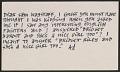 View Ad Reinhardt postcard to Samuel J. Wagstaff digital asset number 0
