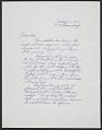 View Dan Flavin, Brooklyn, N.Y. letter to Samuel J. Wagstaff, Hartford, Conn. digital asset number 0
