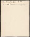 View Reproduction of a portrait of Arthur Fitzwilliam Tait digital asset: verso