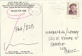 View Marvin B. Lipofsky postcard to Patti Warashina digital asset: postcard back