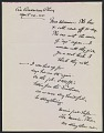 View Alfred Stieglitz letter to Keith Warner digital asset number 0