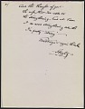View Alfred Stieglitz letter to Keith Warner digital asset number 1