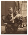 View William Glackens and his daughter Lenna digital asset number 0