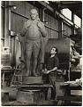 View William Zorach with sculpture digital asset number 0