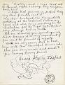View Frida Kahlo, Coyoacán, Mexico letter to Clara Strang Weatherwax, Berkeley, California digital asset: page 2