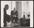 View Photograph of Harry Callahan and Ludwig Mies van der Rohe digital asset number 0