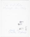 View Ludwig Mies Van der Rohe digital asset: verso