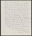 View Meyer Schapiro letter to Mrs. Max Weber digital asset: page 1