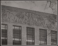View Elephant frieze on the biology lab at Harvard digital asset number 0