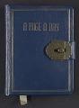 View Katharine Lane Weems diary digital asset: cover