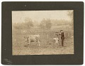 View Adolph Weinman at work outdoors digital asset number 0