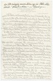 View Adolph Weinman's notes from a speech to the President of the National Academy of Design and Members digital asset: page 3