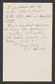 View Frederic Edwin Church letter to John Ferguson Weir digital asset: verso