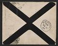 View James McNeill Whistler letter to Herbert Charles Pollitt digital asset: envelope verso