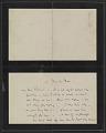 View James McNeill Whistler letter to Herbert Charles Pollitt digital asset number 0