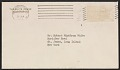 View Jacqueline Kennedy letter to Robert W. White digital asset: envelope