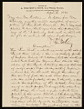 View George Whitney, Philadelphia, Pennsylvania, letter to Henry Hill Collins digital asset number 0