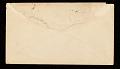 View George Whitney, Philadelphia, Pennsylvania, letter to Henry Hill Collins digital asset: envelope verso